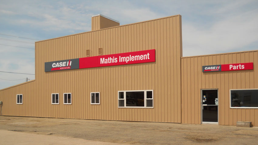 Mathis Implement Located Winner, SD